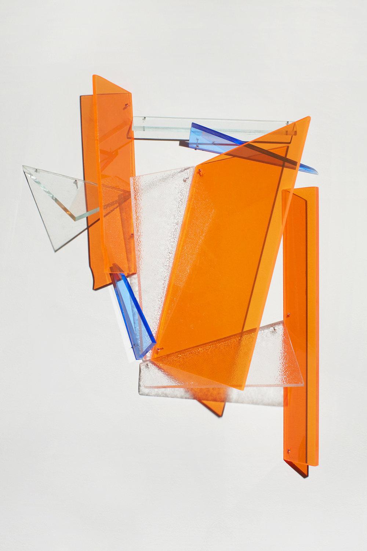 Ulterior  2012 Plexiglas 16.5Hx16.5Wx4D inches / 42x42x10 cm
