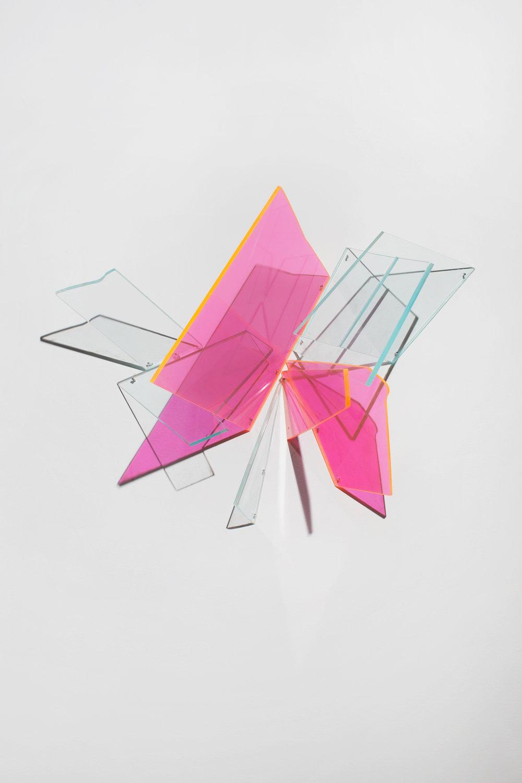 Why Not  2012 Plexiglas 17.5Wx11Hx6D inches / 44x28x15 cm