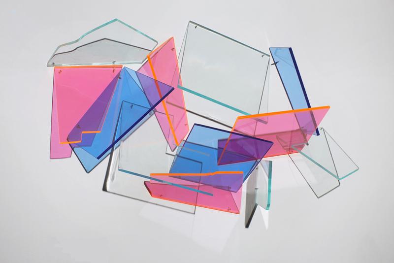 Empty & Full  2012 Plexiglas  26Wx15Hx6D inches / 66x38x15 cm