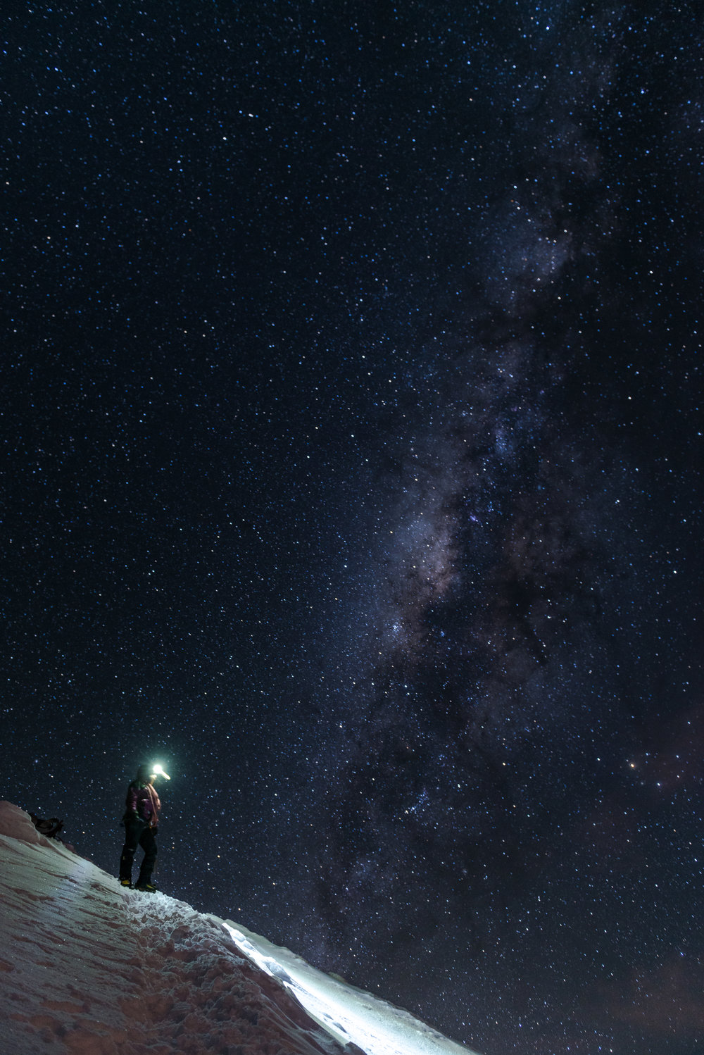 The milkyway in Cotopaxi