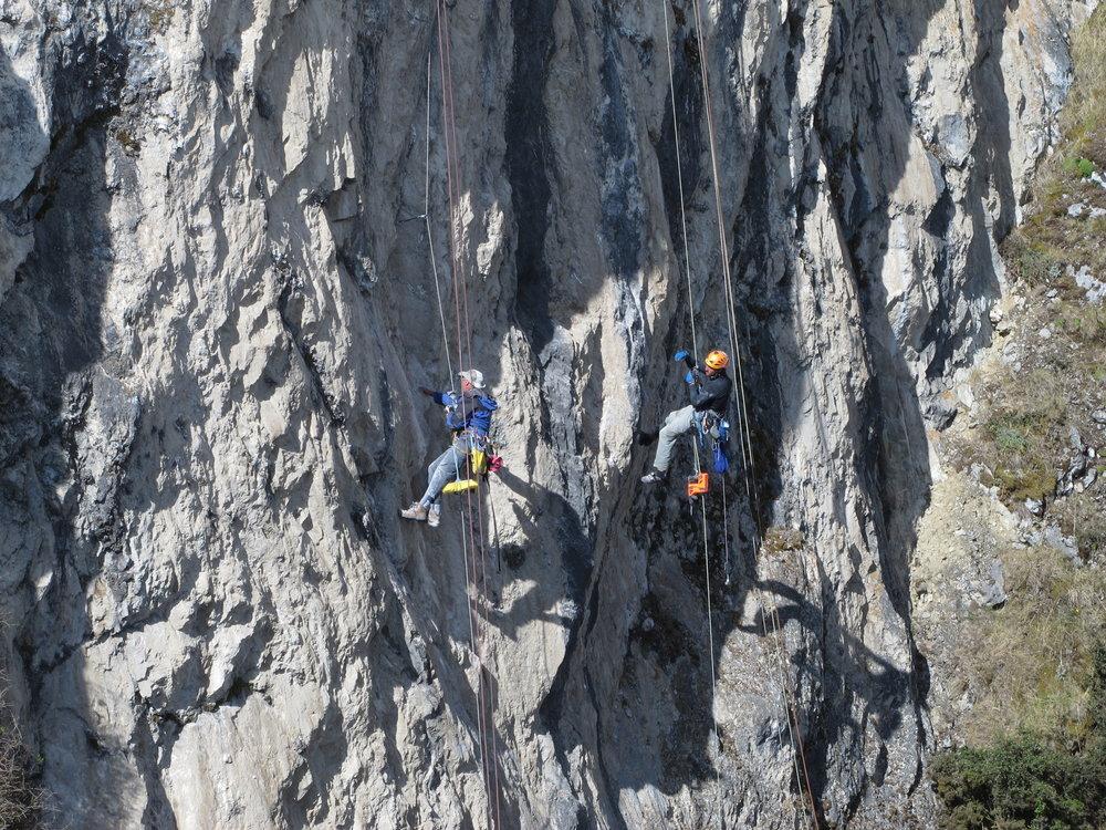 Rock Climbing Zumbahua