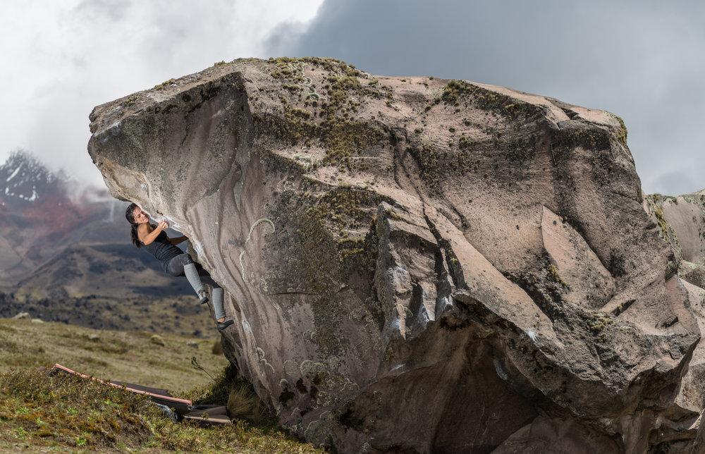 Rock Climbing Cotopaxi