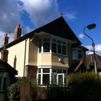 BEFORE: Detached property completely gutted and renovated including extension, loft, landscape (2011)