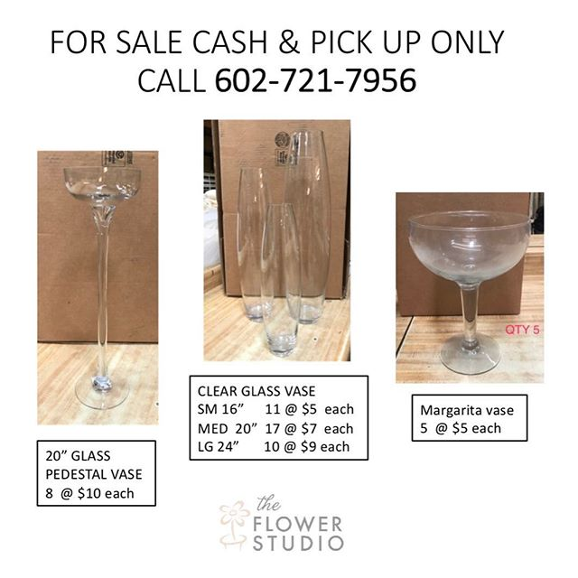FOR SALE  Cash & Pick up Only #flowerstudioaz