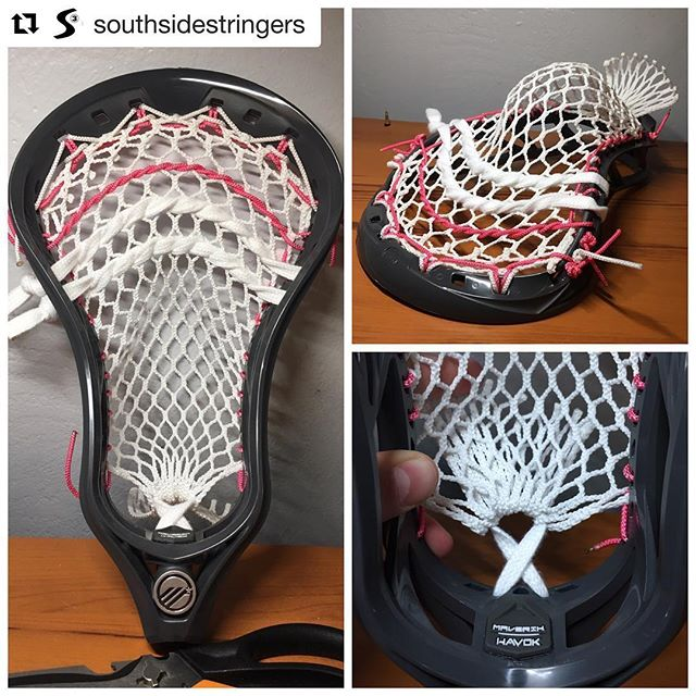 So appreciative of our son's amazing, thoughtful friends. The love and kindness @maxbergie @southsidestringers and his family have shown mine has been overwhelming. He has an incredible business with a special talent💕  #Repost @southsidestringers with @get_repost ・・・ New @maveriklacrosse Havoc head strung up personally for a great friend of mine whose mom was diagnosed with breast cancer a few months ago. Huge shoutout to him and his family for everything they do!🥍💗