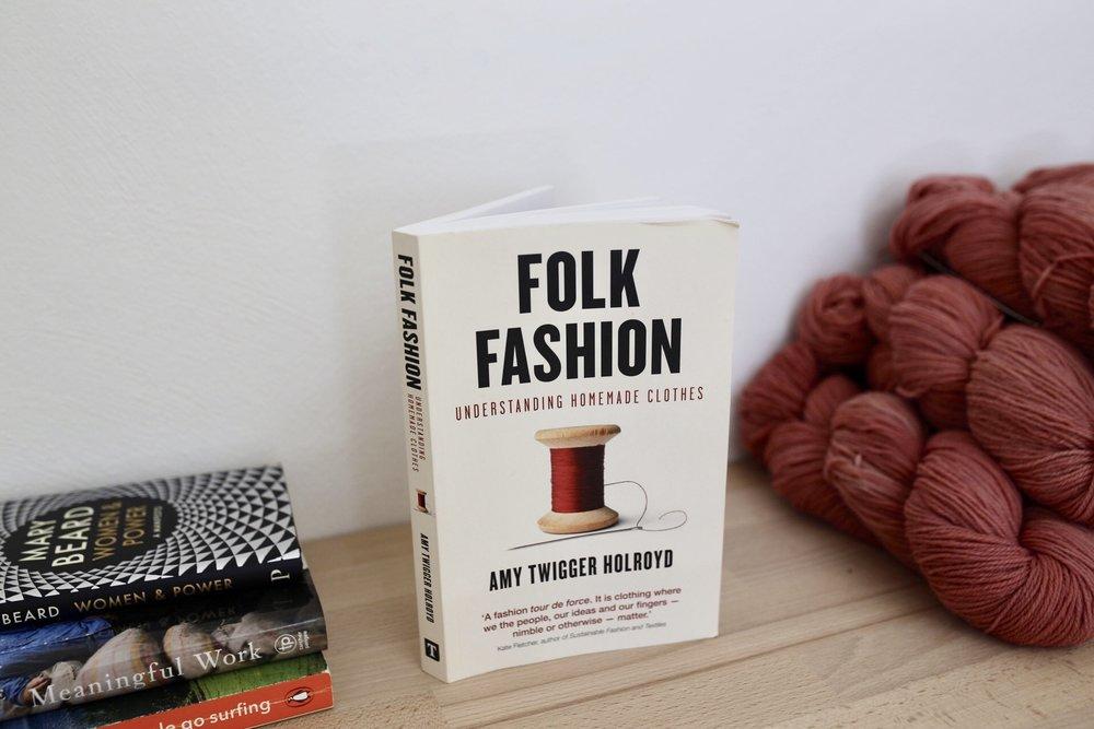 My latest blog post: Folk Fashion - a Book Review -