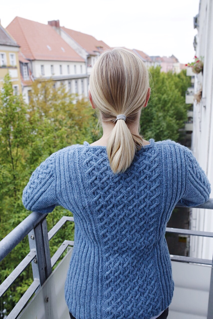 Stonethwaite Sweater by Linda Marveng