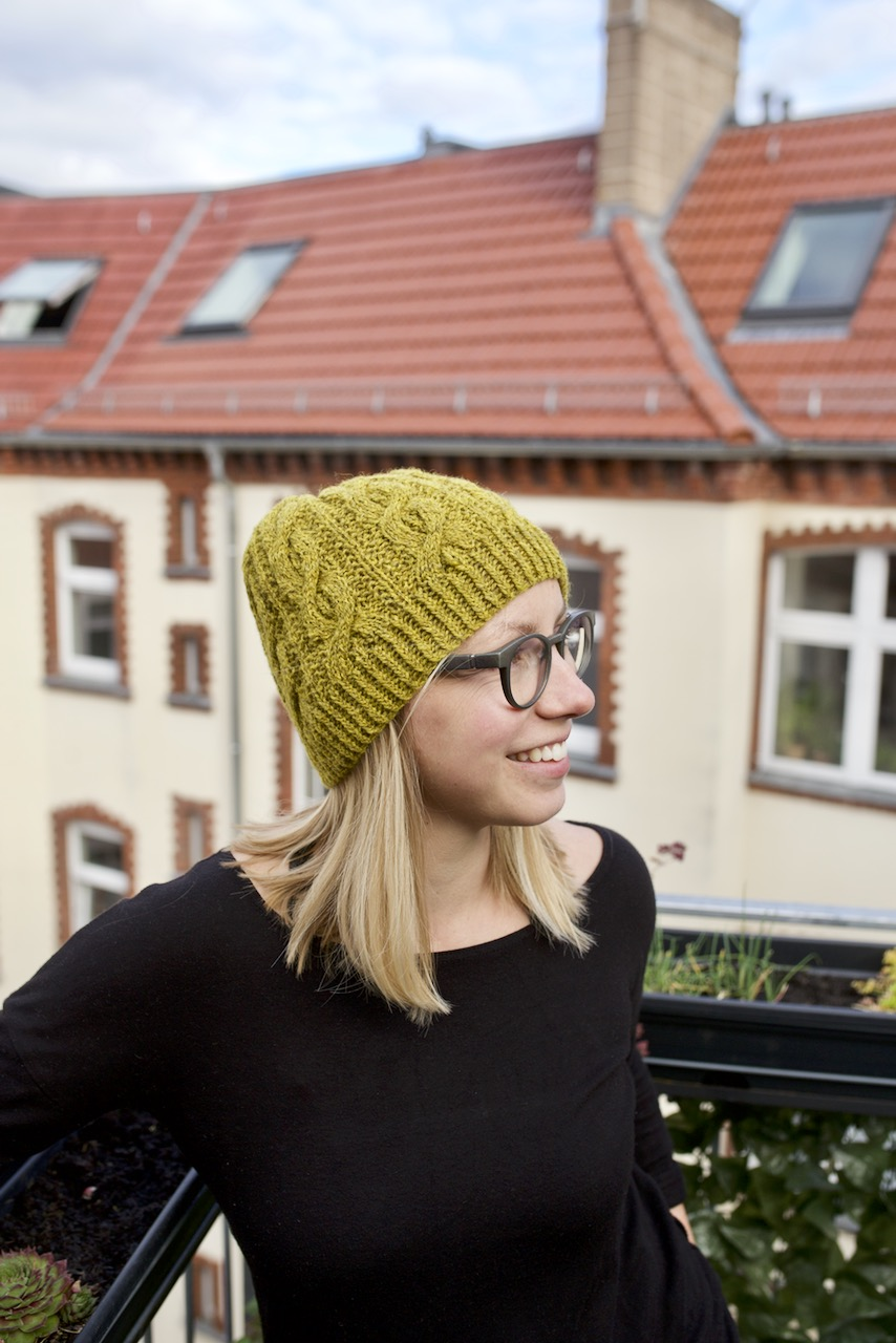 826bf30a92ddd FO Log  Bracken Beanie (2018 FO-08) — Hanna Lisa Haferkamp Designs