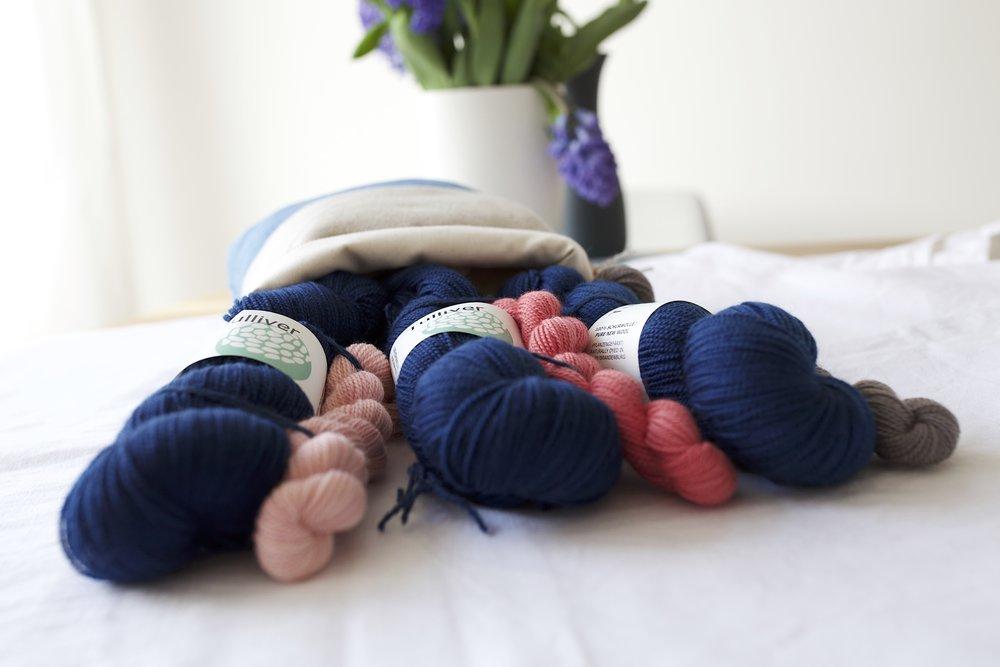 Tulliver Yarn High Twist Sock Yarn Kits for HLH Designs