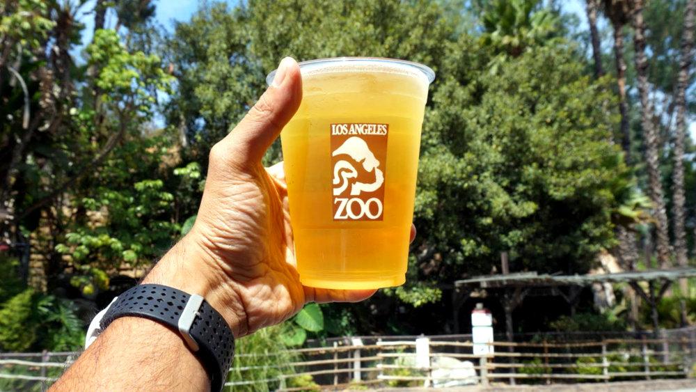 los angeles zoo beer cup