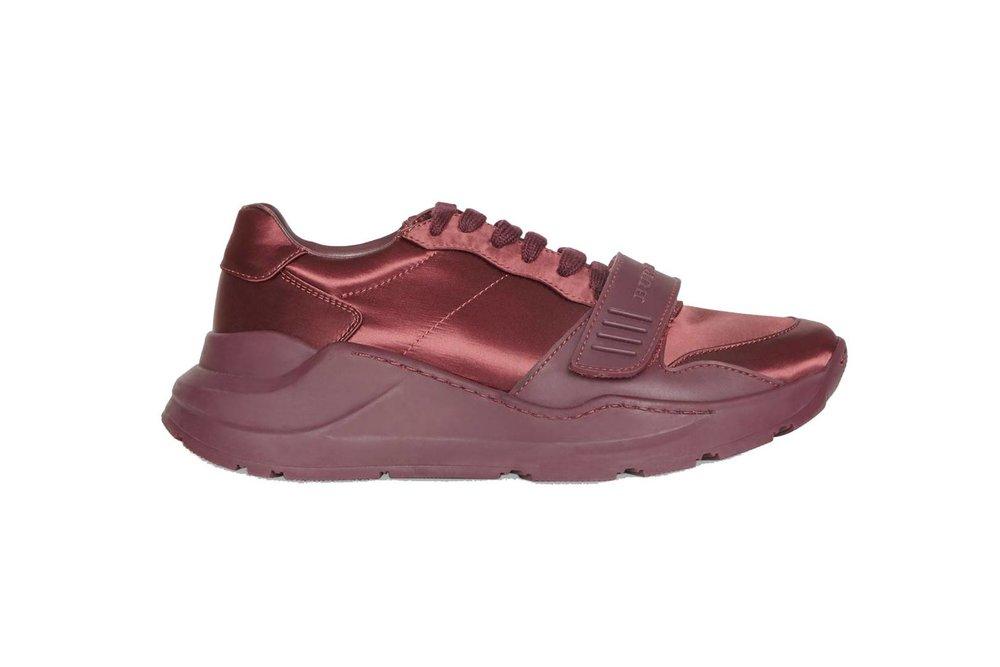 Burberry - Satin sneakers, £430