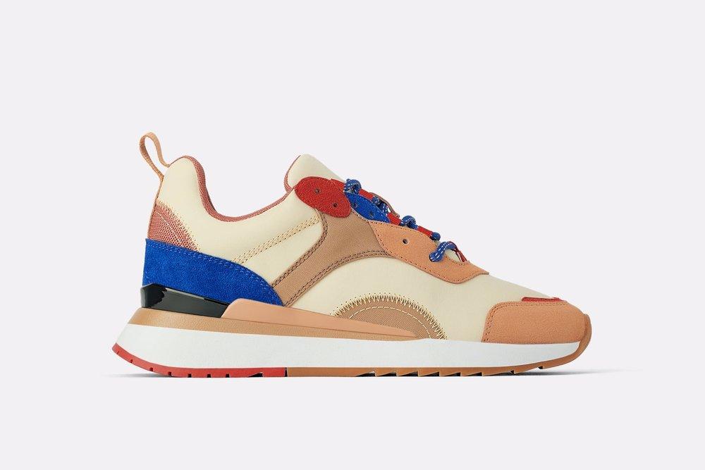 Zara - Sneakers with contrasting trim, 799 kr