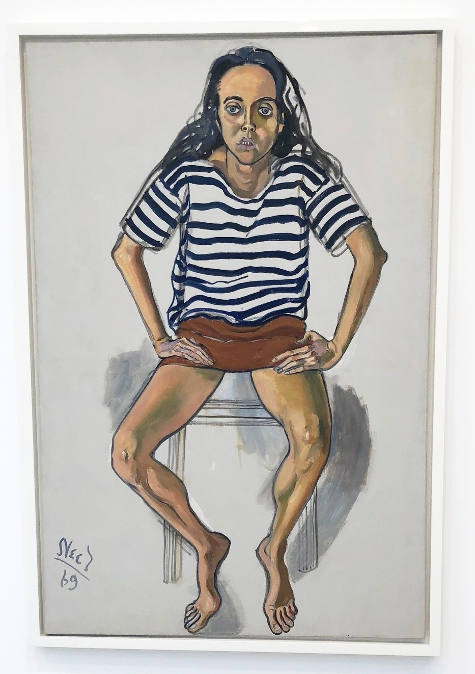 Alice Neel at David Zwirner Gallery