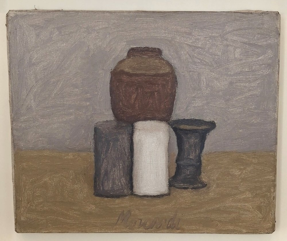 Morandi at David Zwirner Gallery