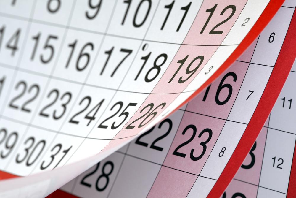 RCI Calendar -