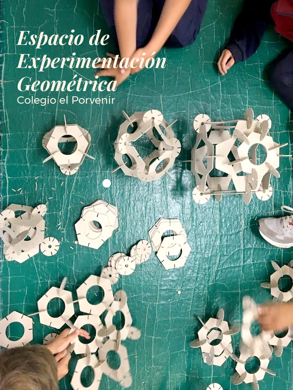 Espacio de experimentación Geométrica. El Porvenir