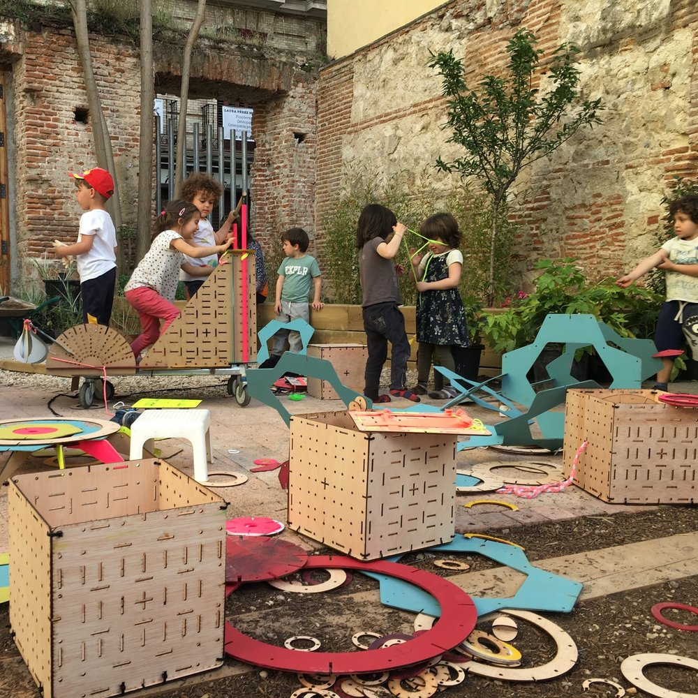 co-diseño con niños - acciones lúdicas