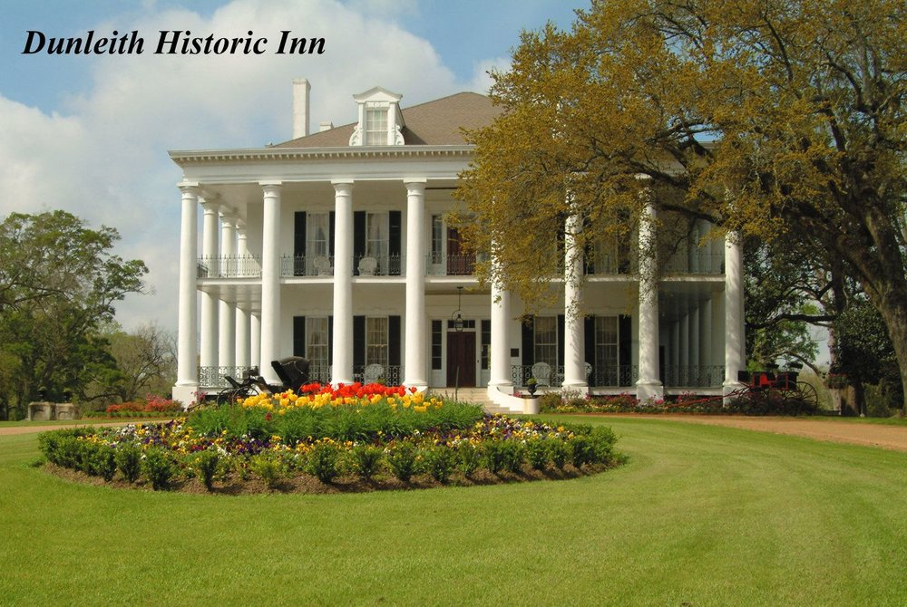 Dunleith Historic Inn  - www.dunleith.com84 Homochitto St.Natchez, Ms.(601) 446-8500