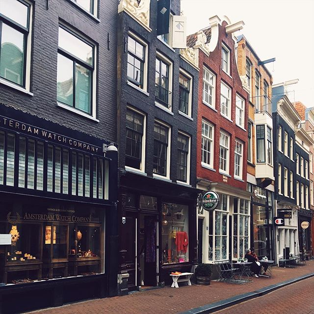Favourite shopping spot in Amsterdam. Lovely little boutiques - highly recommend leaving packing space! 🚲🌷 #instatravel