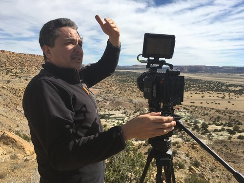 Sergio Ulloa - Director of Photography - Cinematographer Sergio Ulloa has worked on award winning films including Roberto Rochín's technically innovative 180º film Tortugas, Antonio Urrutias's Sin Sostén (Cannes Film Festival Winner), Cages (Winner of 2009 Palm Springs Short Film Festival) and many others. In 2013 he shot Eleanor Antin's experimental documentary Fragments of a Revolution. Sergio shot To the Ends of the Earth, and is also collaborating on Corridor Stories.