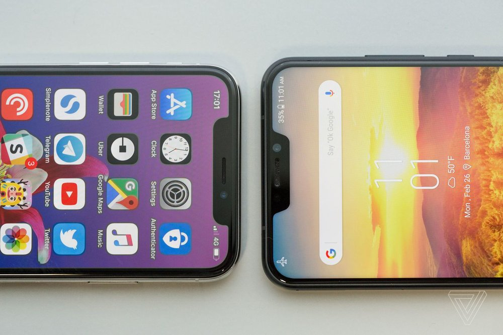 iPhone X vs Asus ZenFone 5