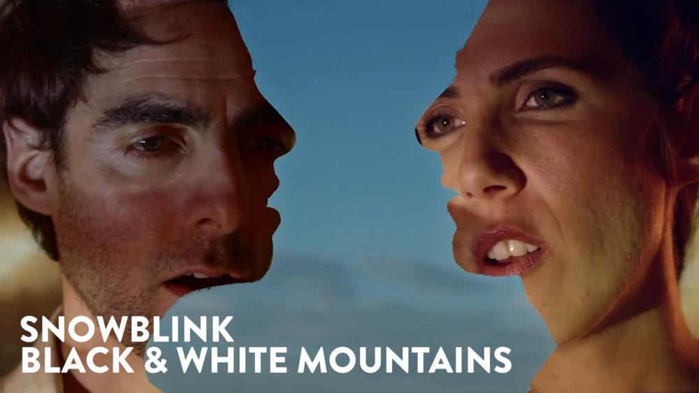 Snowblink - Black & White Mountains