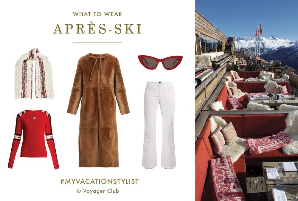 #MyVacationStylist- Ski Wardrobe - Apres Ski - Vacation Wardrobe