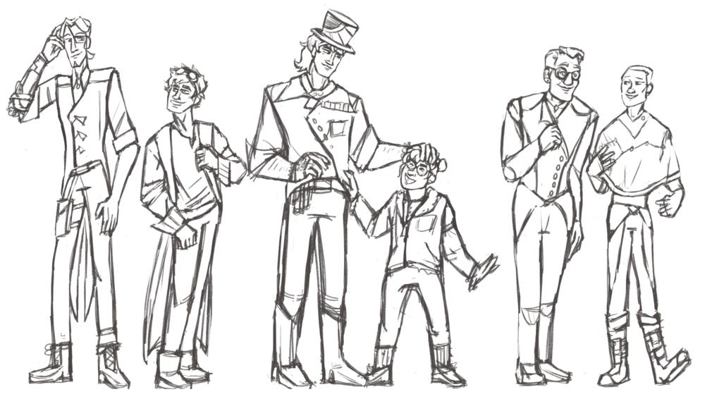 Character Lineup pt1