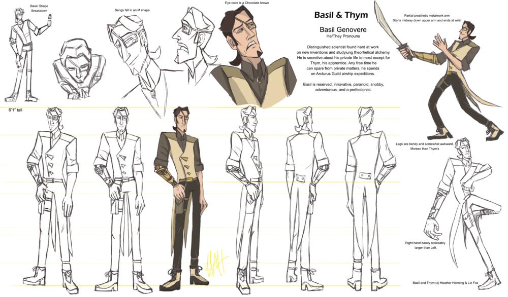 Basil Character Sheet