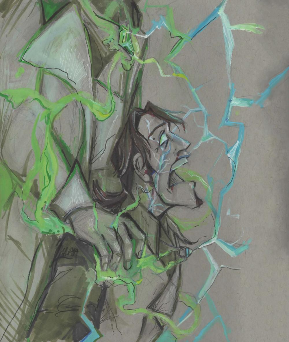 Thunder Basil Illustration