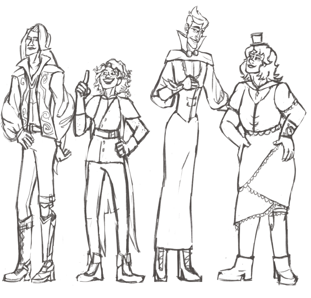 Character Lineup pt3