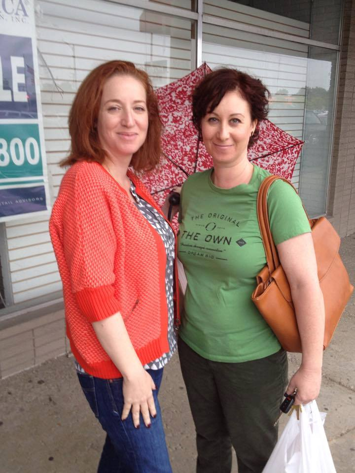 Me and my sis Laura, on our last visit to Detroit (September 2015)