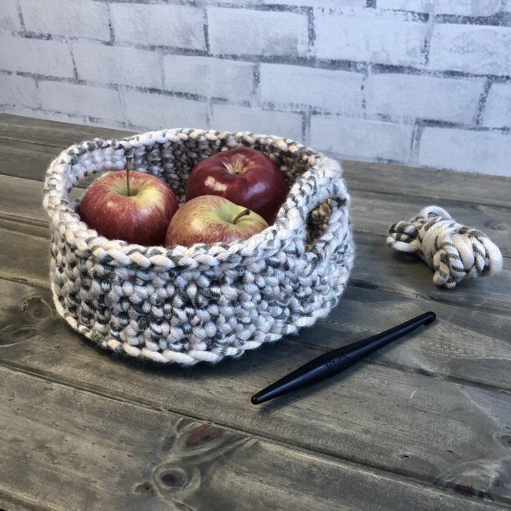 Harvest Basket Crochet Pattern