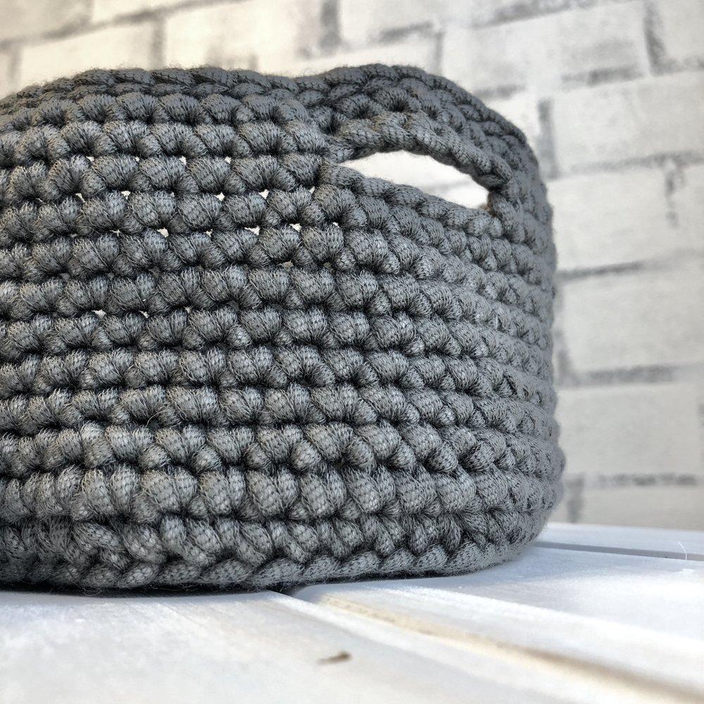 Nesting Baskets - Crochet Pattern - The Roving Nomad