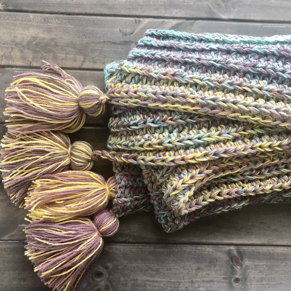 Valley of Flowers Wrap Scarf