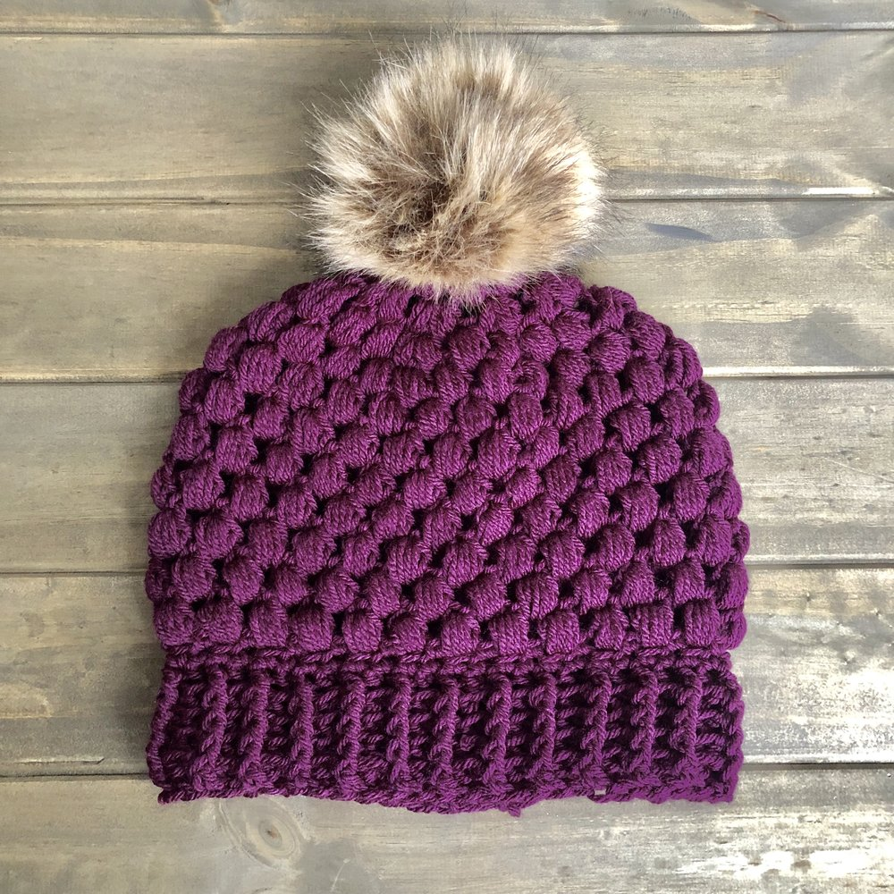 Sonoma Beanie Hat - Crochet Pattern - The Roving Nomad