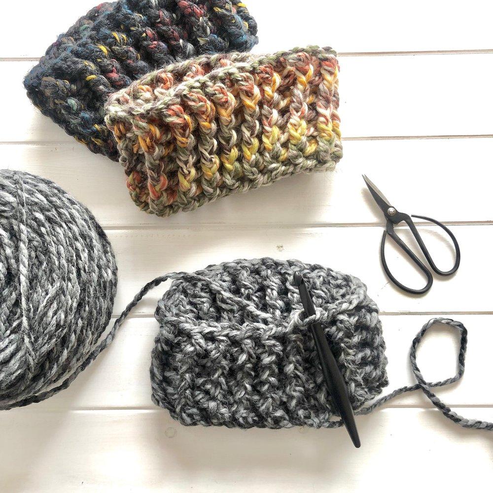 Alpine Ridge Headband and Hat Crochet Pattern