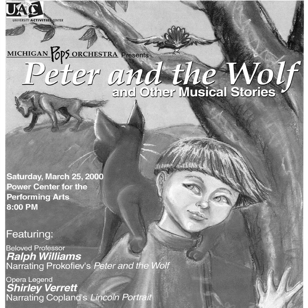 Peter and the Wolf and Other Musical Stories - Winter 2000