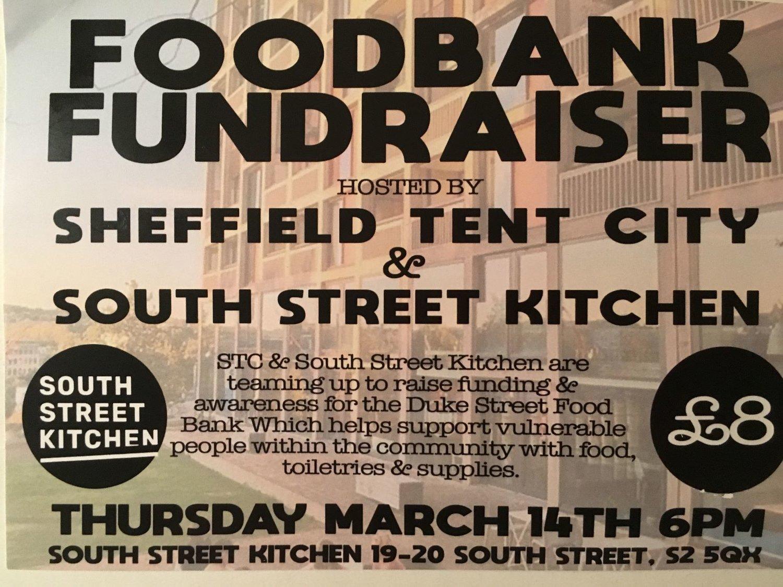 Duke St Food Bank Fundraiser South Street Kitchen