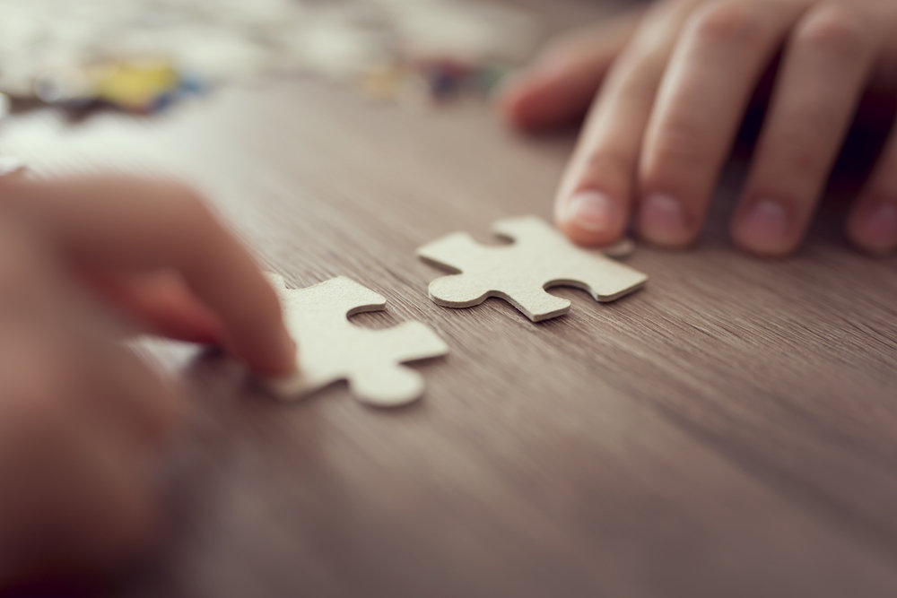 You can reach more people working together. Fitting pieces of the puzzle together to see the larger picture.