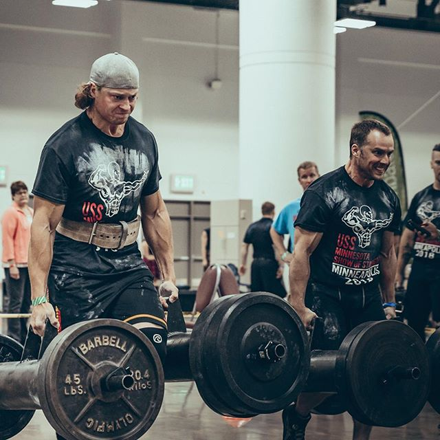 One of our crowd favorites is coming back for @thebranchwarren and @cmbongiovanni's 2019 #mnSportsExpo - the USS Minnesota Show of Strength strongman competition by @loscampeonesgym!! 🏋🏽♀️🏋🏼🏋🏽♀️🏋🏼 Los Campeones is an awesome local gym with an even more awesome community of athletes, be it bodybuilding or strongman. The 2018 competition events included log press medley, farmer carry, sandbag toss, max deadlift and atlas stone shouldering. Come join us on June 8th, 2019 at the Minneapolis Convention Center to watch some strong people lift heavy stuff!