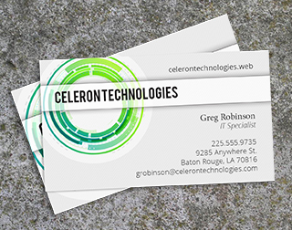 Business Cards Printing Tech