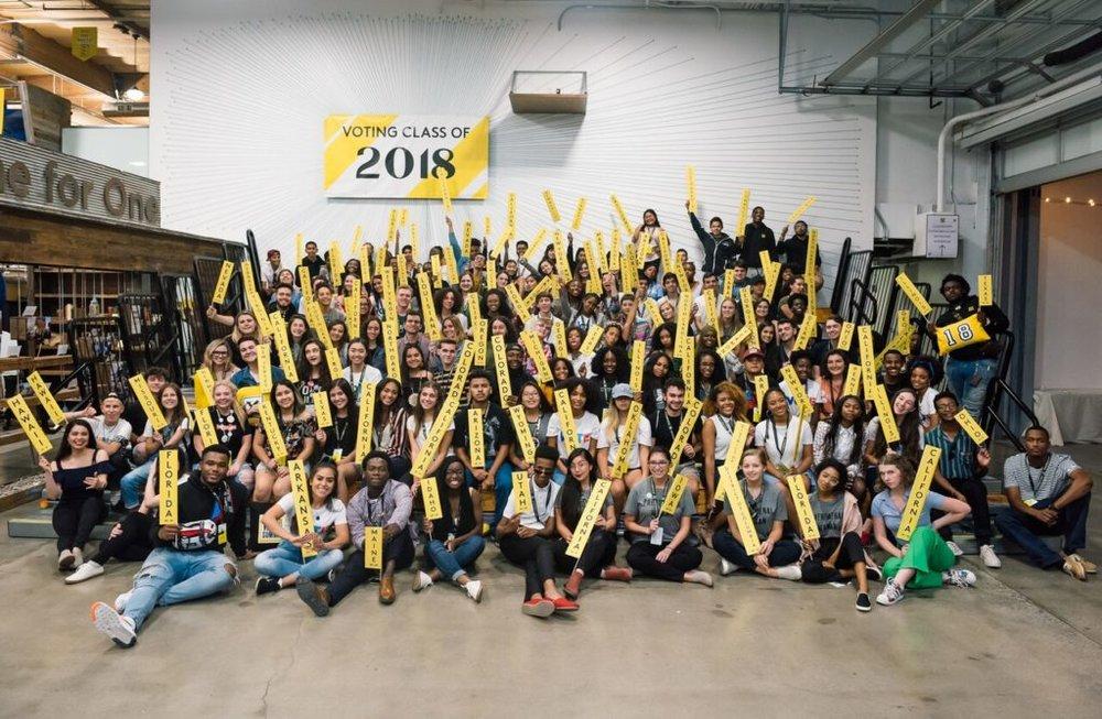Eighteenx18 #WeVoteNext Summit