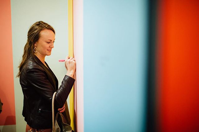 Didn't get a chance to write on the HER STORY wall last weekend? Come out tonight from 6-8pm and add your story❤️ 📷 by @juliette_fradin_photography  #herstoryhvl #juliettefradinphotography #studiosohy #hyattsvilleartsdistrict #colorstorycreative #bythings #acreativedc #pgcreates💥