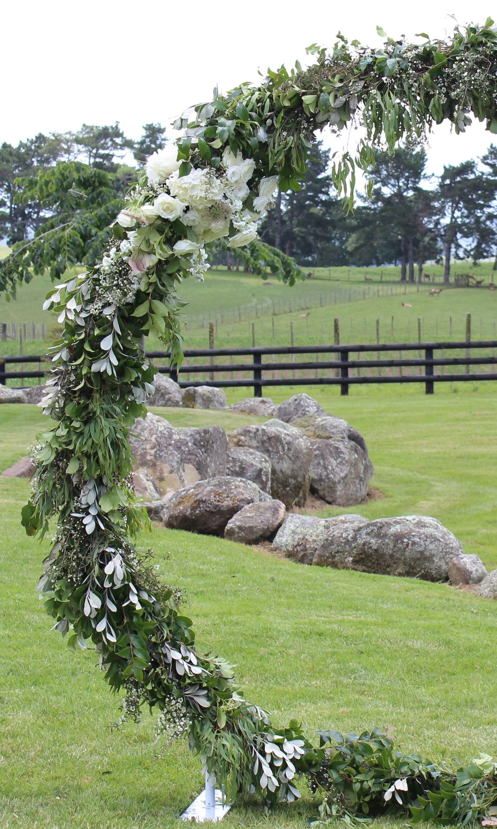 White Circle Archway - The perfect backdrop