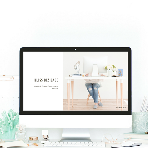 Bliss Biz Babe - Digital group coaching program to monetize your passion and scale your biz in the online space, from a place of authenticity and alignment. This program can be done DIY or VIP status, and also includes lifetime access including all updates!