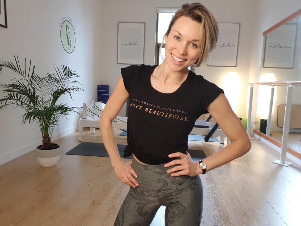 STEFANIE TURNER    Learn more about Stef by visiting her website: www.movewithstef.com    Follow Stef on Instagram! : @_stefanie_turner_