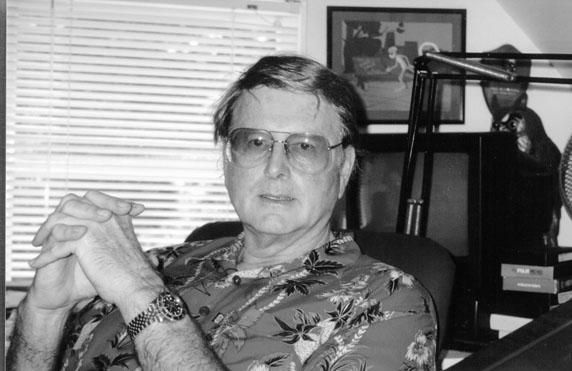 Dale Hale in his home studio