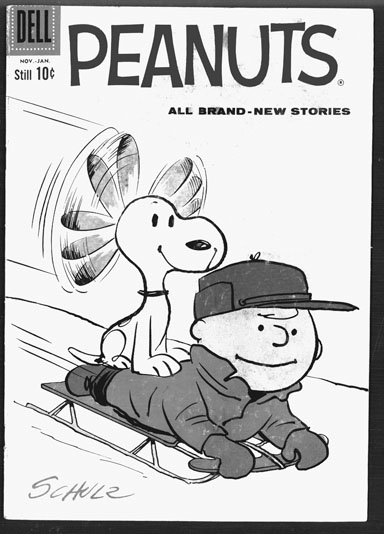 Peanuts comic book 2