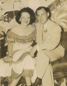 Marjorie and Russell Stamm in the 1950s